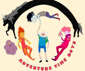 adventure time, boys, and finn the human image