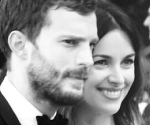 couple, amelia warner, and Jamie Dornan image