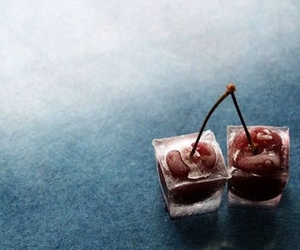 cherries, cubes, and photo image