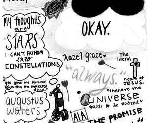 the fault in our stars, tfios, and it's a metaphor image