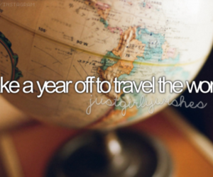 travel, bucket list, and world image