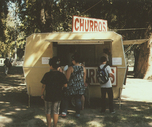 vintage, churros, and indie image