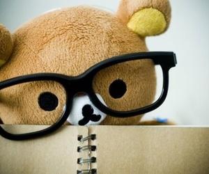 cute, glasses, and kawaii image