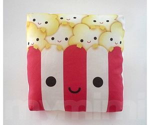 popcorn and pillow image