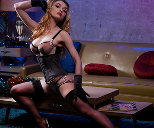 black gloves, long legs, and satin image