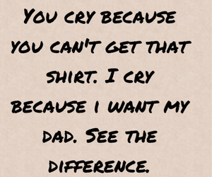 cry, dad, and death image