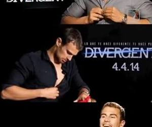 divergent and theo image