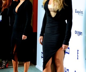 fashion, khloe kardashian, and kim kardashian image