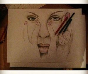 art, drawing, and P!nk image
