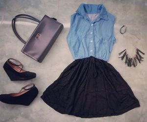 fashion, weheartit.com liltysa, and outfit. ootd. dress image
