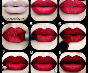 fashion, lips, and style image