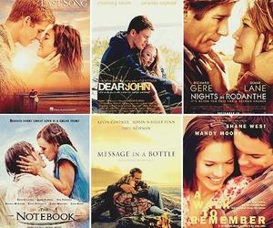 nicholas sparks, A Walk to Remember, and dear john image