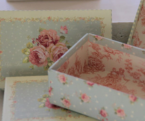 baroque, box, and flowers image