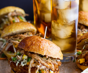 burger, food, and yummy image