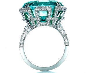 gorgeous, ring, and turquoise image
