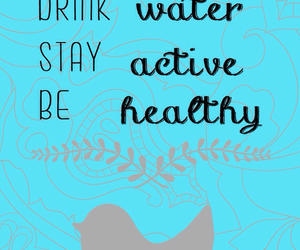 healthy and quote image