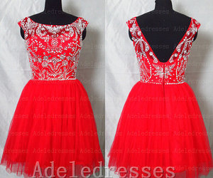 cocktail dress, homecoming dress, and cheap prom dress image