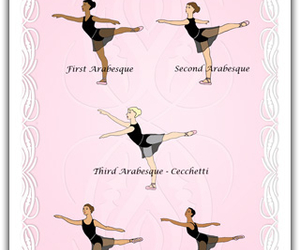 arabesque and dance image