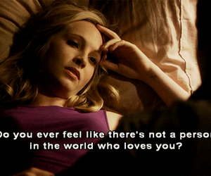 quotes, the vampire diaries, and sad image