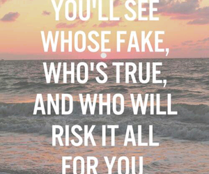 quote, fake, and true image