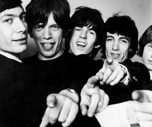 rolling stones, mick jagger, and music image