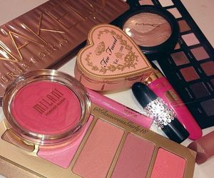 cosmetics, pastel, and girly image