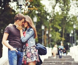 couple, kiss, and kissing image