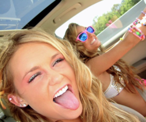 blonds, cool Girls, and summer image
