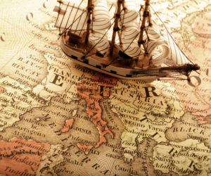 map, ship, and europe image