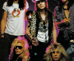 Guns N Roses, slash, and duff mckagan image