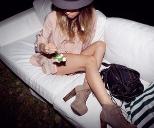bag, hat, and shoes image