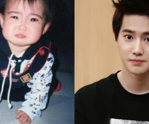 exo, suho, and baby image