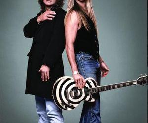 Ozzy Osbourne and zakk wylde image