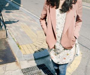 blazer, fashion, and pink image