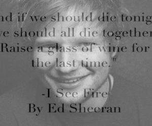 ed sheeran, i see fire, and ed image
