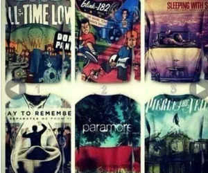 paramore, all time low, and blink 182 image