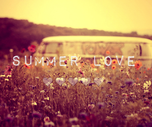 flowers, summer, and love image