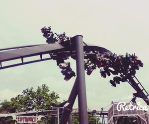 gardaland, raptor, and Roller Coaster image