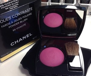 chanel, make up, and pink image