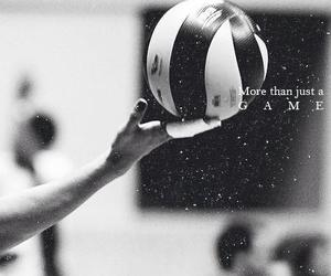 volleyball, game, and sport image