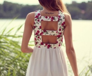 dress, girl, and summer image