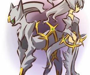 pokemon and arceus image