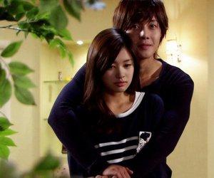 beauty, korean, and couple image