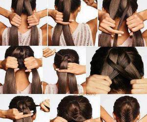 hair, style, and tutorials image