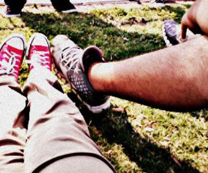 boyfriend, couple, and shoes image
