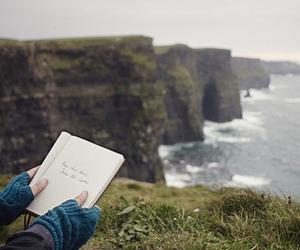 nature, sea, and book image