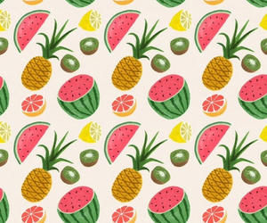 fruit, pineapple, and style image