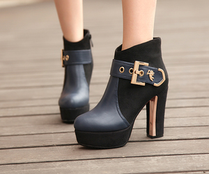 fashion, girls, and heels image