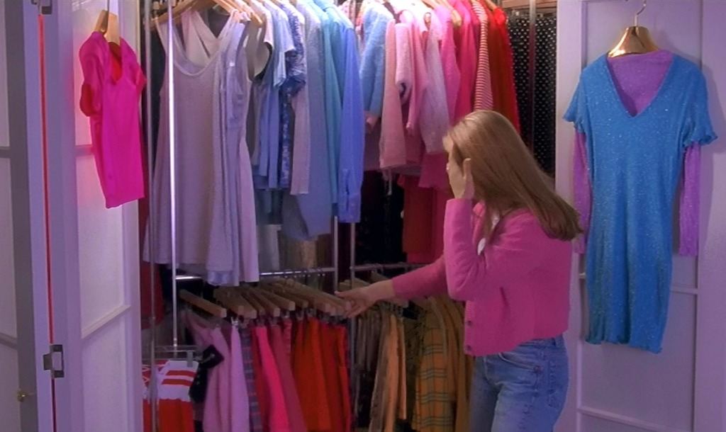 pink, Clueless, and 90s image