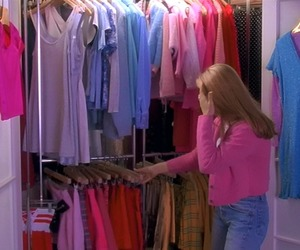 pink, Clueless, and fashion image